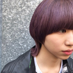 ナチュラルウルフ ネオウルフ ストリート ニュアンスウルフ ヘアスタイルや髪型の写真・画像