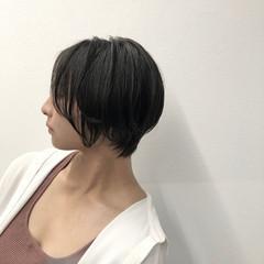 ハンサムショート ベリーショート ショートボブ ショートヘア ヘアスタイルや髪型の写真・画像