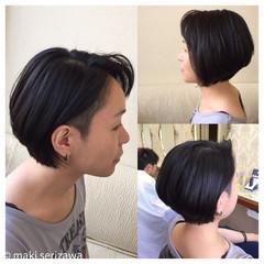 ショート 坊主 モード 刈り上げ ヘアスタイルや髪型の写真・画像