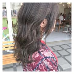 ウェーブ 外国人風 ハイライト ストリート ヘアスタイルや髪型の写真・画像