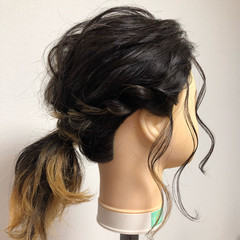 ふわふわヘアアレンジ 簡単ヘアアレンジ 簡単 ヘアアレンジ ヘアスタイルや髪型の写真・画像