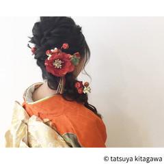 ヘアアレンジ 花嫁 結婚式 振袖 ヘアスタイルや髪型の写真・画像