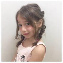 ヘアアレンジ ナチュラル ガーリー モテ髪 ヘアスタイルや髪型の写真・画像