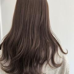ロング ショートヘア ナチュラル インナーカラー ヘアスタイルや髪型の写真・画像