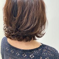 大人可愛い ボブ 外ハネ 外ハネボブ ヘアスタイルや髪型の写真・画像