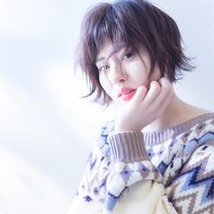 色気 ナチュラル 似合わせ 小顔 ヘアスタイルや髪型の写真・画像