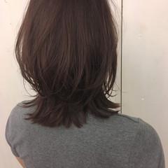 ナチュラル 艶髪 ブラウン ショコラブラウン ヘアスタイルや髪型の写真・画像