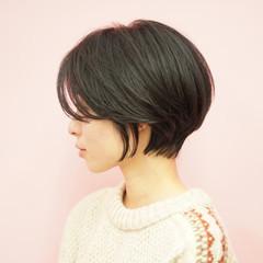 ショート 40代 ショートボブ ショートヘア ヘアスタイルや髪型の写真・画像