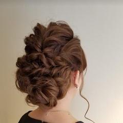 エレガント ヘアアレンジ 結婚式アレンジ 結婚式 ヘアスタイルや髪型の写真・画像