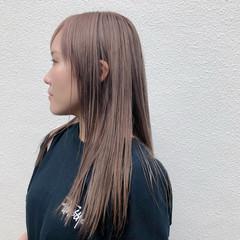 ミルクティーベージュ ストリート ミルクティー ハイトーン ヘアスタイルや髪型の写真・画像