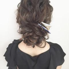 上品 大人かわいい ヘアアレンジ こなれ感 ヘアスタイルや髪型の写真・画像