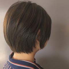 デート ショートボブ ショート 大人女子 ヘアスタイルや髪型の写真・画像