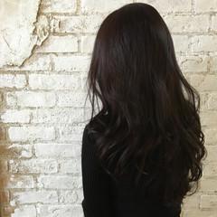 ロング 艶髪 イルミナカラー エレガント ヘアスタイルや髪型の写真・画像