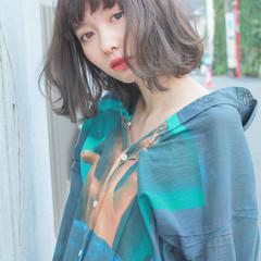 色気 ストリート ニュアンス 透明感 ヘアスタイルや髪型の写真・画像