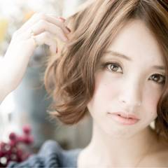 モテ髪 コンサバ ゆるふわ 愛され ヘアスタイルや髪型の写真・画像