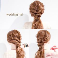 ヘアアレンジ フェミニン ロング オフィス ヘアスタイルや髪型の写真・画像