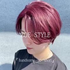 エレガント ショートボブ ベリーショート ショート ヘアスタイルや髪型の写真・画像