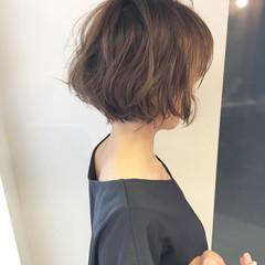 ボブ 簡単ヘアアレンジ 女子力 ナチュラル ヘアスタイルや髪型の写真・画像