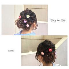 大人女子 フェミニン 色気 ハーフアップ ヘアスタイルや髪型の写真・画像