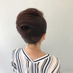 色気 ヘアアレンジ ロング 夏 ヘアスタイルや髪型の写真・画像