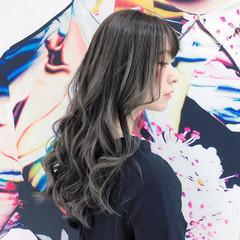 ロング フェミニン アンニュイほつれヘア デート ヘアスタイルや髪型の写真・画像