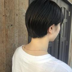 ナチュラル ショート 大人可愛い ショートヘア ヘアスタイルや髪型の写真・画像