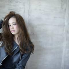 ストリート ロング モード フェミニン ヘアスタイルや髪型の写真・画像