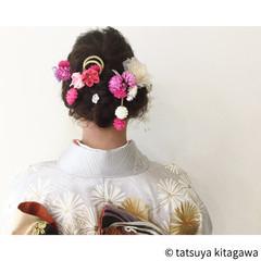 花嫁 ゆるふわ 成人式 結婚式 ヘアスタイルや髪型の写真・画像