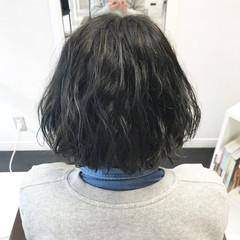 ボブ ゆるふわ フェミニン アンニュイ ヘアスタイルや髪型の写真・画像