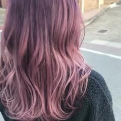 ブリーチカラー アンニュイほつれヘア デート ストリート ヘアスタイルや髪型の写真・画像