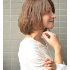 ボブ 外国人風カラー ミニボブ ナチュラル可愛い ヘアスタイルや髪型の写真・画像