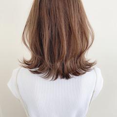 ミディアム デジタルパーマ 大人可愛い モテ髪 ヘアスタイルや髪型の写真・画像