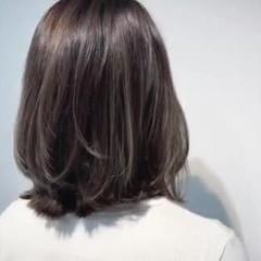 コントラストハイライト 極細ハイライト 大人ハイライト ハイライト ヘアスタイルや髪型の写真・画像