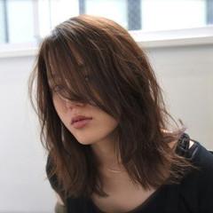 ミディアム 外国人風 ヘアアレンジ 大人かわいい ヘアスタイルや髪型の写真・画像