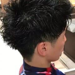 マッシュ ストリート 束感 ボーイッシュ ヘアスタイルや髪型の写真・画像