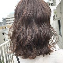 ハイライト 外国人風 ウェットヘア ナチュラル ヘアスタイルや髪型の写真・画像