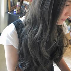 アッシュグレージュ 上品 アッシュ グレージュ ヘアスタイルや髪型の写真・画像