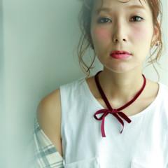 前髪あり ショート 外国人風 ヘアアレンジ ヘアスタイルや髪型の写真・画像
