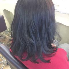 アッシュグレージュ グレージュ 暗髪 ナチュラル ヘアスタイルや髪型の写真・画像