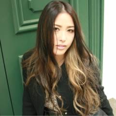 渋谷系 コンサバ 愛され ロング ヘアスタイルや髪型の写真・画像