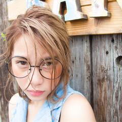 ボブ 色気 外国人風 ヘアアレンジ ヘアスタイルや髪型の写真・画像