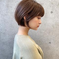 ショートヘア ショートボブ 大人ショート こなれ感 ヘアスタイルや髪型の写真・画像