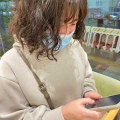 モテ髪 韓国ヘア ガーリー ボブ ヘアスタイルや髪型の写真・画像