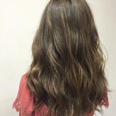 ガーリー グラデーションカラー 大人かわいい ハイライト ヘアスタイルや髪型の写真・画像