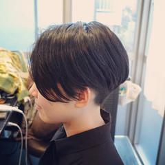 ショート 前下がりボブ ショートヘア ショートボブ ヘアスタイルや髪型の写真・画像