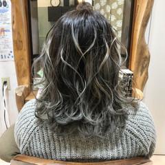 ハイトーン 外国人風 エレガント グラデーションカラー ヘアスタイルや髪型の写真・画像