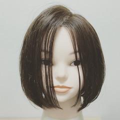 黒髪 お手入れ簡単!! ナチュラル 切りっぱなし ヘアスタイルや髪型の写真・画像