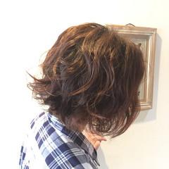 簡単 モード かっこいい くせ毛風 ヘアスタイルや髪型の写真・画像