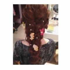 ヘアアレンジ 結婚式 ルーズ コンサバ ヘアスタイルや髪型の写真・画像