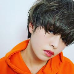 外国人風 ナチュラル 前髪あり パーマ ヘアスタイルや髪型の写真・画像